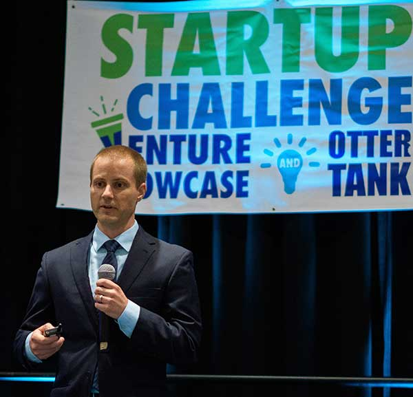 Startup Challenge pitch competitor