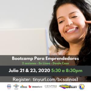 Bootcamp Para Emprendedores