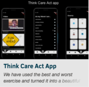 Think Care Act 2nd Place Winner: Think Care Act App
