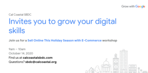 WEBINAR: GOOGLE SELL ONLINE THIS HOLIDAY SEASON WITH E-COMMERCE TOOLS