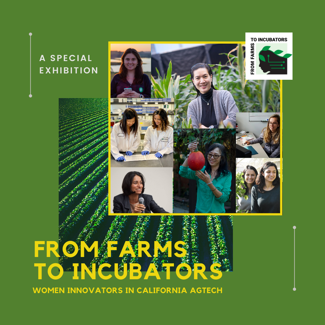 'From Farms to Incubators' exhibition honors women who merge ag and tech to solve modern problems Multimedia exhibition premiers Nov. 12 at National Steinbeck Center