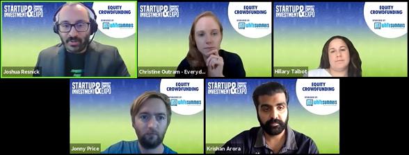 Equity Crowdfunding - Video Shot