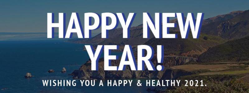 Monterey Bay - Happy New Year