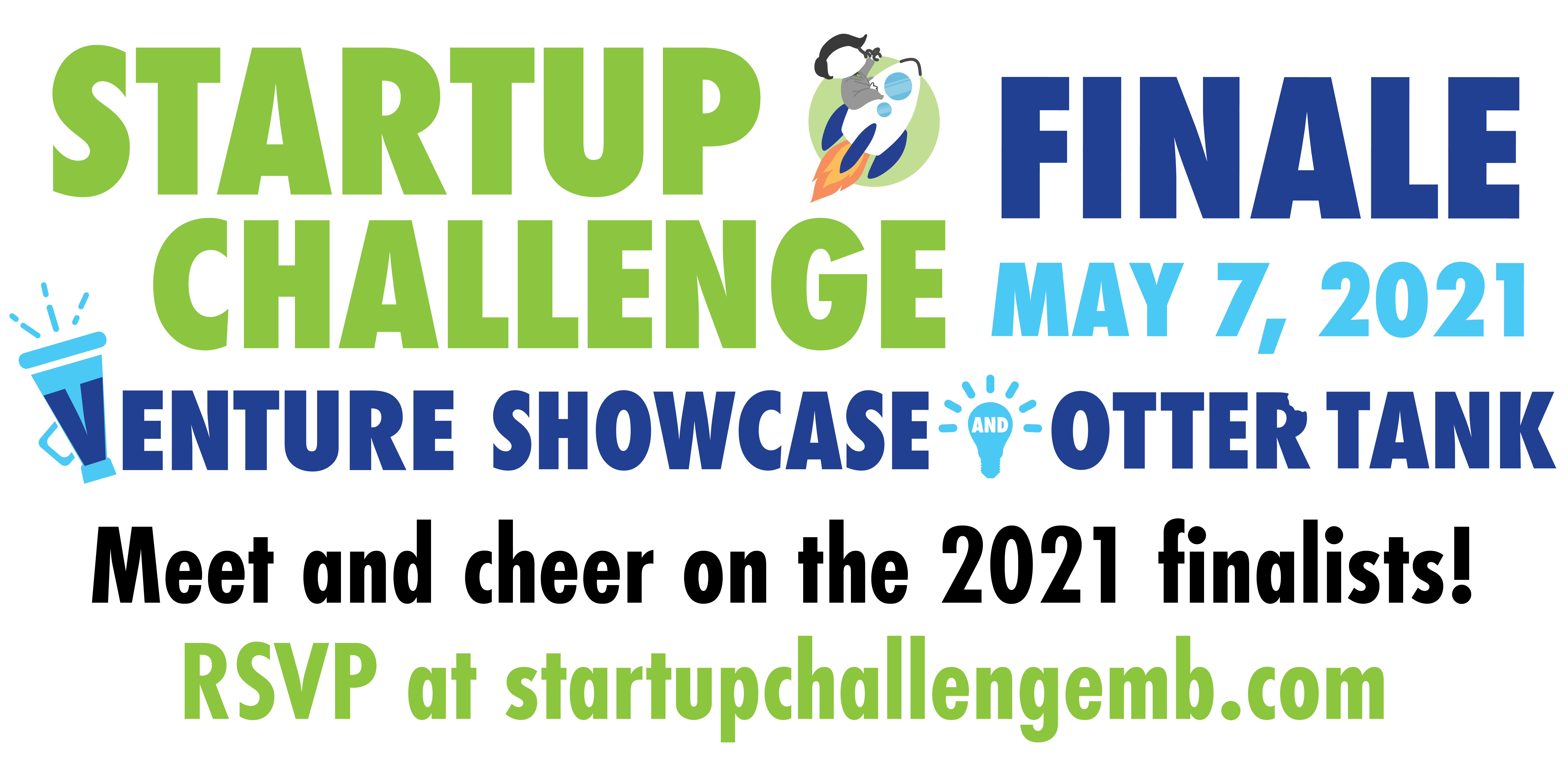 Startup Challenge Finale - Venture Showcase and Otter Tank May 7 2021