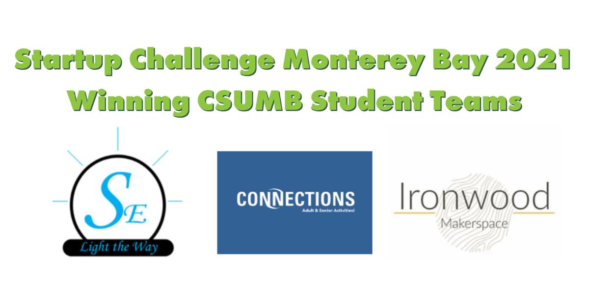 CSUMB students among winners in 2021 Startup Challenge Monterey Bay