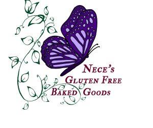 Nece's Gluten free baked goods logo